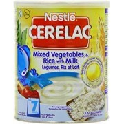 Nestle Cerelac Mixed Vegetables & Rice w/Milk (Stage 2) 400g
