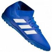 adidas Nemeziz Tango 18.3 TF Kinderen Turf voetbalschoenen DB2378 - blauw - Size: 38