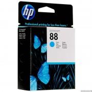 HP 88 Cyan Inkjet Print Cartridge, 9ml (C9386AE)