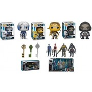POP Funko Ready Player One: Parzival + Shoto + i-Rok + Copper Key + Jade Key + Crystal Key + Collectible Action Figures 4 Pack - Stylized Vinyl Figure Bundle Set New