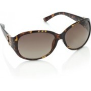 Trends Over-sized Sunglasses(Brown)