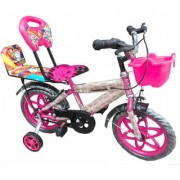 Oh Baby Baby 35.56 Cm (14) double seat bicycle with red color for your kids SE-BC-07
