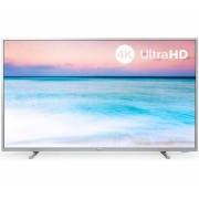Philips 6500 Series 55PUS6554 12 Tv Led 55'' 4K Ultra Hd Smart Tv Wi-Fi Argento