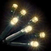 240 LED-es MELEG-FEHÉR karácsonyfa izzó
