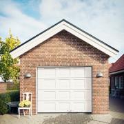 Garageport Advant Complete - Spegel 2400 x 2000, Aperto motor