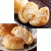 八天堂くりーむパン2種12個セット カスタード/生クリーム【QVC】40代・50代レディースファッション