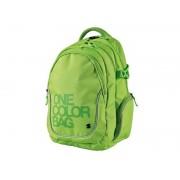 Batoh studentský One Colour zelený STIL