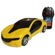 Fast Modern Car with Remote Control with 3D Light