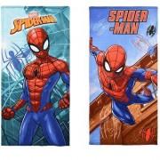 Spider-Man Spiderman Bad handduk barn (Blå Bakgrund)