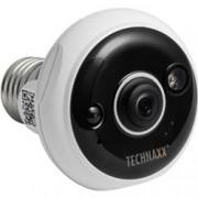 Technaxx Telecamera Dome FullHD per Interni IR LED E27 PIR, TX-58