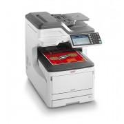 Oki MC853DN - Impressora multi-funções - a cores - LED - 297 x 431.8 mm (original) - A3 (media) - até 23 ppm (cópia) - até 23 p