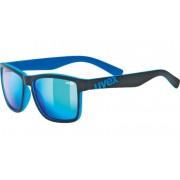 solar ochelari Uvex LGL 39 Negru șah-mat albastru (2416)