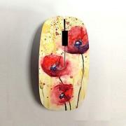 Babu Building Ordenador Personal Impresión Simplistic Art Alta Calidad Usar como Wireless Mouse para Chicas