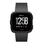 Смарт часовник Fitbit Versa, NFC, до 4 дни време за работа, черен
