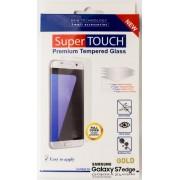 Folie protectie sticla securizata Super Touch STH-0738 pentru Samsung Galaxy S7 Edge (Aurie)