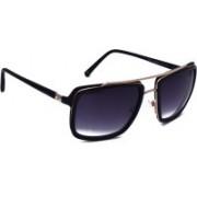 TOMMY HILFIGER Aviator Sunglasses(Black)