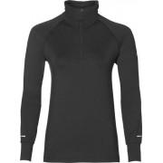 Asics - Thermopolis 1/2 Zip sweater - Dames - Sweaters - Zwart - L