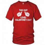 Tricou Valentine pentru barbati