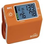 Tensiometru cu Bluetooth pentru încheietura mâinii Scala SC7400, portocaliu