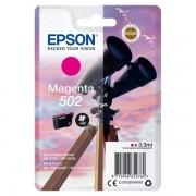 Epson Originale Expression Home XP-5100 Cartuccia stampante (502 / C 13 T 02V34010) magenta, 160 pagine, 4.13 cent per pagina, Contenuto: 3 ml