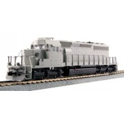 Kato USA Model Train Products EMD SD40 2 Mid Production Model Locomotive (ATSF Body Style)