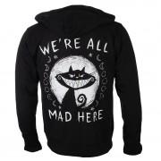 hanorac cu glugă unisex - We're All Mad Here - Akumu Ink - 9HM15