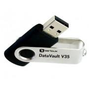 Stick de memorie Serioux DataVault V35 USB 2.0 16GB negru