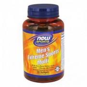 Мултивитамини за мъже - Extreme Sports Multi - 90 дражета, NOW FOODS, NF3890