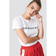 NA-KD Trend Reveal Basic Tee - T-Shirts - White