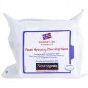 Neutrogena Face Care servetele pentru curatare pentru piele uscata spre sensibila 25 buc