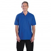 Nisbets Unisex Polo Shirt Royal Blue M Size: M