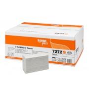 Rezerva prosoape pliate, Celtex 7272S, 2 straturi, alb, 200 buc/pachet, 15 pachete/cutie