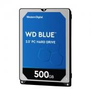 Western Digital WD Blue Mobile 500GB 2.5 Zoll, 7mm SATA 6Gb/s - interne Festplatte