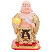 Solar Powered Bobblehead Toy Figure Nohohon Buddha 074