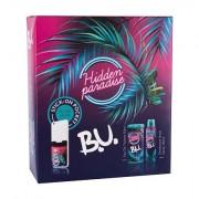 B.U. Hidden Paradise confezione regalo eau de toilette 50 ml + deodorante 150 ml + sticker 1 pz donna