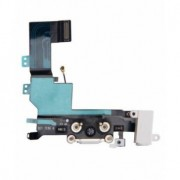 Banda cu conector alimentare Apple iPhone 5S Originala Alba