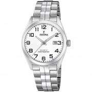 Reloj F20437/1 Plateado Festina Hombre Acero Clasico Festina