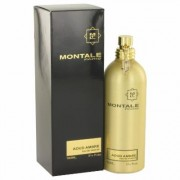 Montale Aoud Ambre For Women By Montale Eau De Parfum Spray (unisex) 3.4 Oz