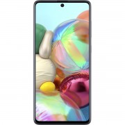 "Telefon mobil Samsung Galaxy A71 Dual Sim, Prism Silver, 6.7"", RAM 6GB, Stocare 128GB"