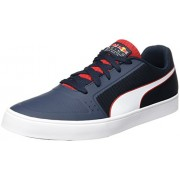 Puma Unisex Rbr Wings Vulc Total Eclipse-Puma White-Chinese Red Sneakers - 9 UK/India (43 EU)(30603201)