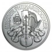 Wiener Philharmoniker Münze Österreich Stříbrná rakouská mince 1 Oz 2009