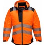 Jacheta de protectie de Ploaie Vision Hi-Vis reflectorizant portocalie T400 M