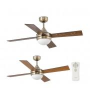FARO 33695 - Ventilator de tavan MINI ICARIA 2xE14/8W/230V bronz/maro