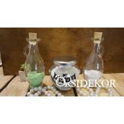 Homokszertartás szett üveg