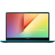 Ultrabook Asus VivoBook S15 Intel Core Whiskey Lake (8th Gen) i5-8265U 256GB 8GB FullHD Tast. il. FPR Green