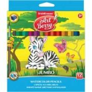 Set 12 creioane colorate magice ErichKrause 3 ani+ Multicolor