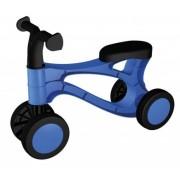 Vehicul fara pedale Lena din plastic Albastru cu Negru
