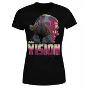 Avengers Vision Women's T-Shirt - Black - S - Black