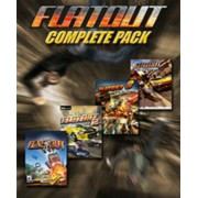 FLATOUT COMPLETE PACK - STEAM - MULTILANGUAGE - WORLDWIDE - PC