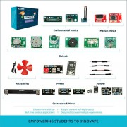 EDGEFX 75 Projects-in-1 Electronic Learning DIY Kit for Students 12+ Years Onwards (Multicolour)